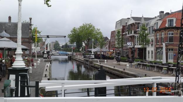 the locks and lifting bridges at Leidschendam
