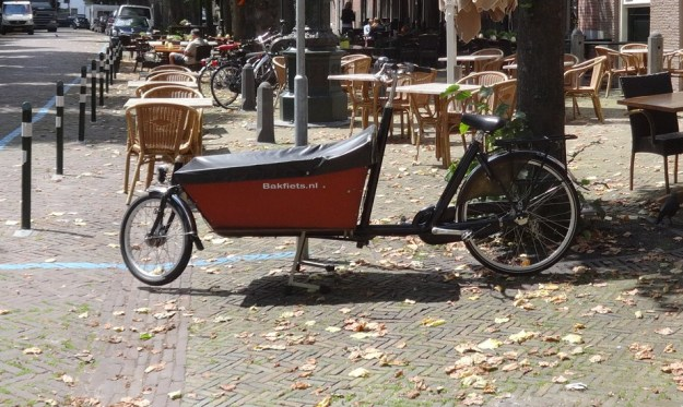 or for something different - a 'bakfiets'