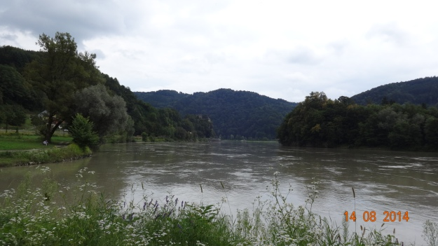 The Danube, just behond Grein