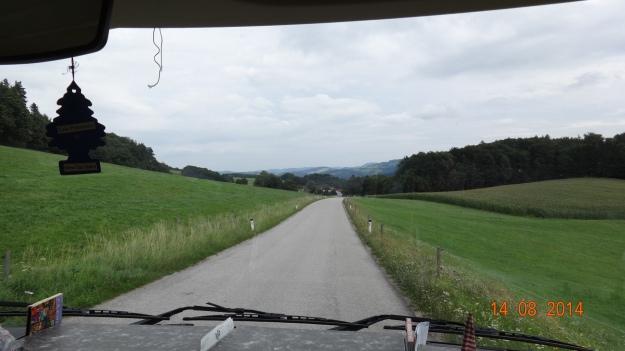quiet roads accross 'Lower Austria'