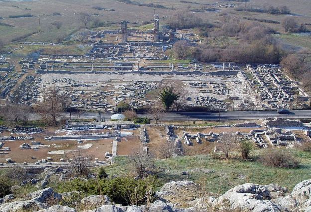 The Huge Archialogical Site of Philippi