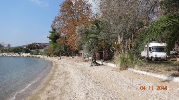 Prime location at Camping Hellas