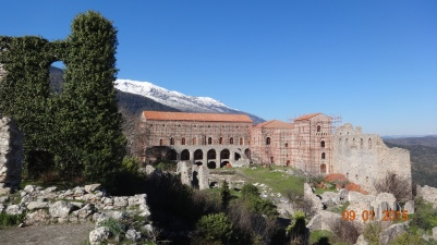 The palace - under renovation
