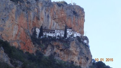 Monastery - what a spot!