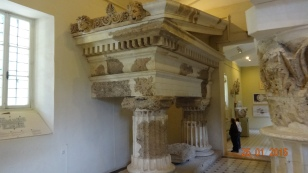 As usual, the best bits are in the museum (the columns, obviously severely truncated)