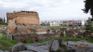 The remains of the roman 'therma'