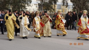 The Bishops in their finery - hang on to your hats!