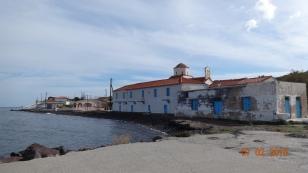 Old monastery at Aghias Georgios