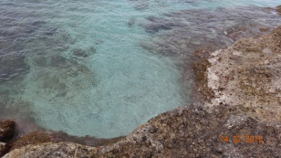 Beautiful clear turquoise water :)