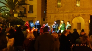 live music in Nafplio during the Carnival