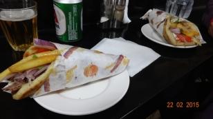 A 'Gyros Pita' - Yum