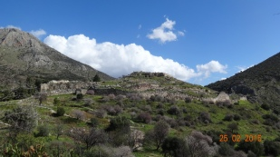 The Mycenaen acropolis
