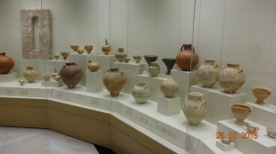 Huge collections of jugs and vases in the museum