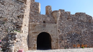 The only entrance (Monemvasia means 'single entrance')