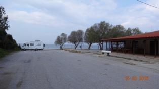 Boza Beach / taverna carpark