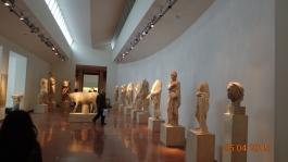 many headless statues