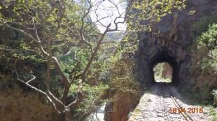 Under bridges...