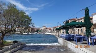 our lunch stop at Agios Nikolaos
