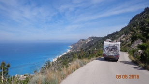 One of many enticing roads that turned into an impossibly steep dirt track - but with views like this, you've got to try!