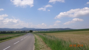 heading into France (Alsase)