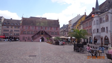 Mulhouse central square