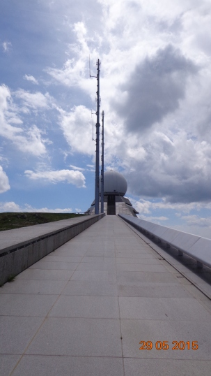 observatory / communications a'top le Grand Ballon - surely it was called that before someone stuck a big ball on top??