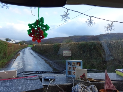 It must be Christmas - look where we're heading..