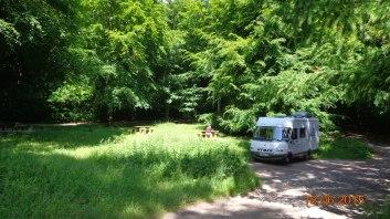 A quiet forest carpark, close to Marlborough: 51.398729 -1.768624