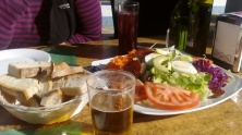 Lunch out in the sun ;)