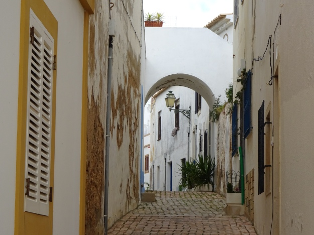 backstreets of Old Albufiera