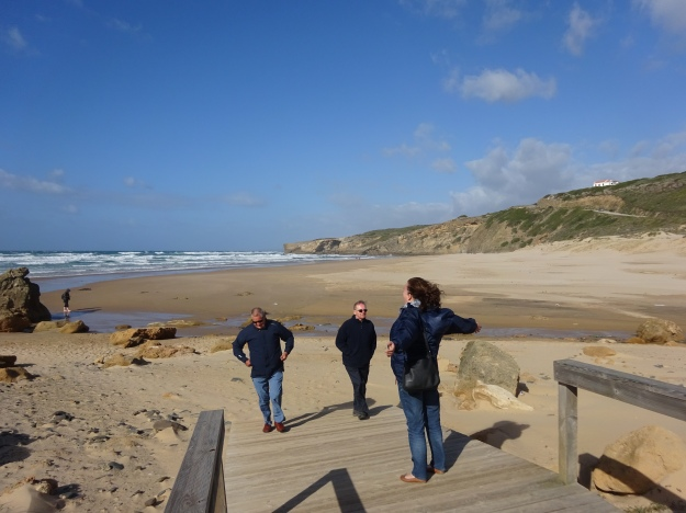West coast, near Aljezur - Windy!
