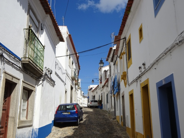 lots of steep, narrow backstreets