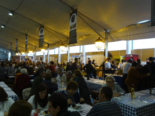 Busy at the Acorda soup festival.