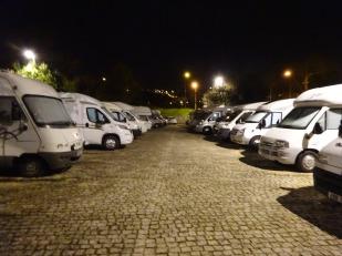Busy Parkup at Coimbra