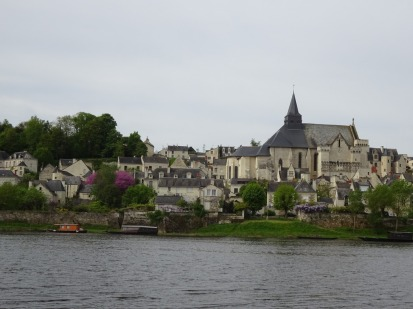 Candes-St-Martin on the Loire,